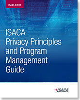 ISACA Privacy Principles and Program Management Guide